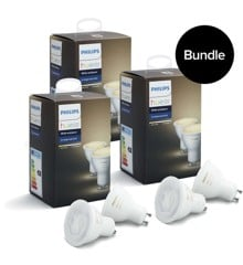 Philips Hue - 3xGU10 2-Pack - White Ambiance - Bluetooth - Bundle