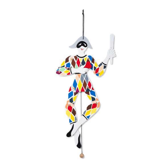 Kay Bojesen Babies - Harlequin Jumping Jack multi (39244)