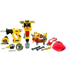 Tuff Tools - Byggeværktøjssæt