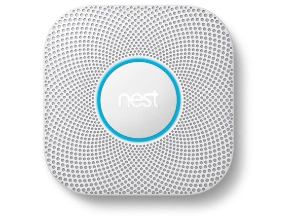 Google - Nest Protect Smart Smoke Detector With Battery DK/NO