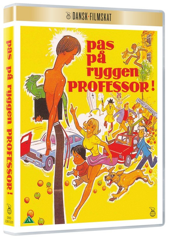 Pas På Ryggen Professor