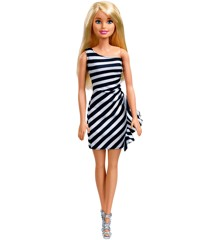 Barbie - Wearing Stripes - White/Black (FXL68)