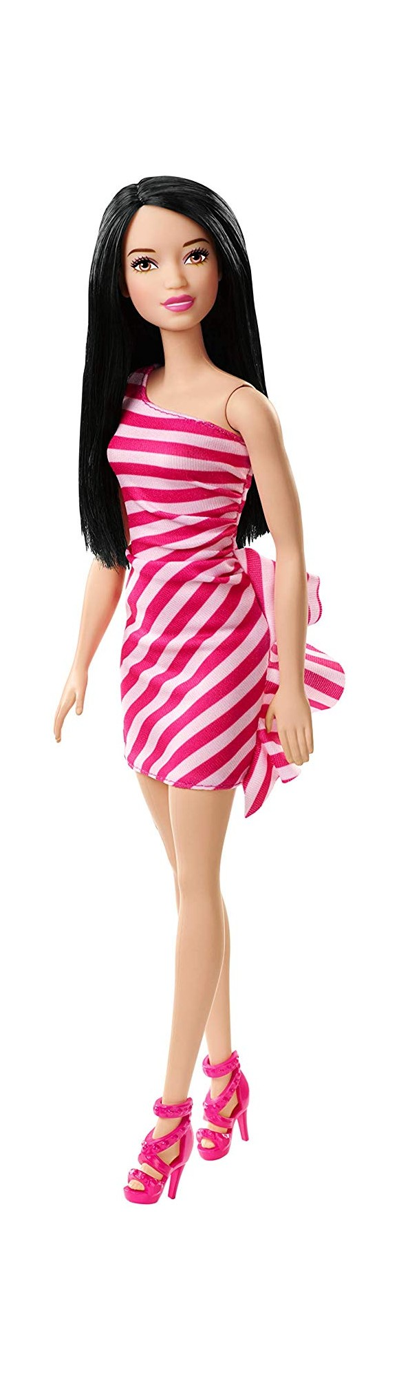Barbie - Wearing Stripes - Pink (FXL70)