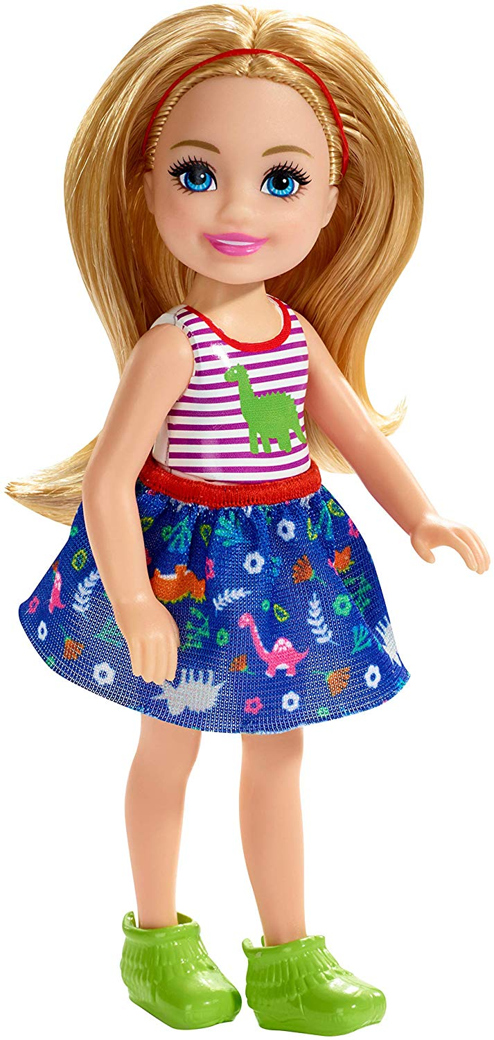 Barbie - Chelsea and Friends Doll - Dinosaur-Themed Look (FXG82)