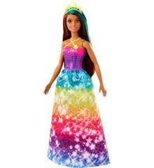 Barbie - Dreamtopia Prinsesse Dukke - Neon Grøn Tiara (GJK14)