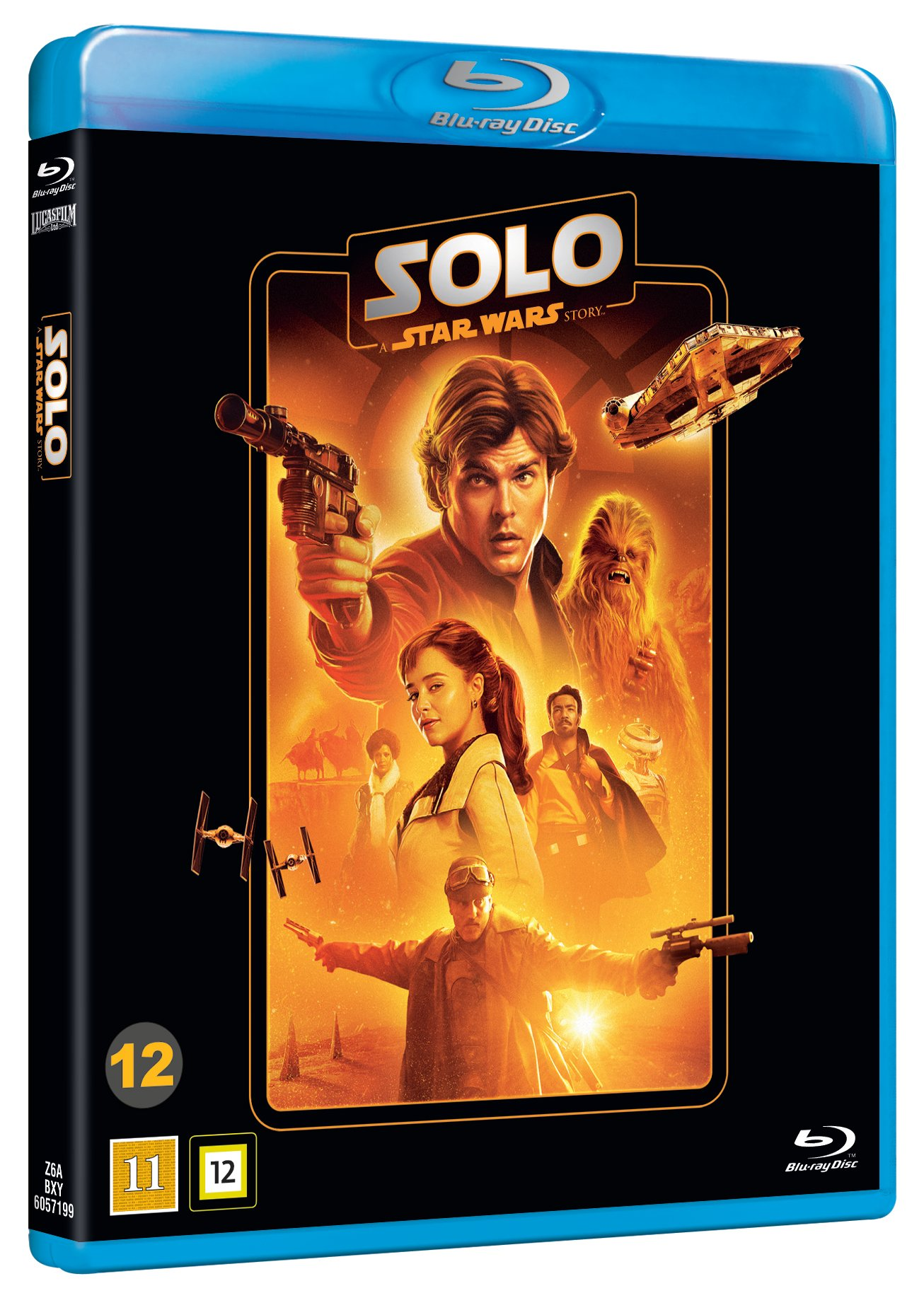 Solo A Star Wars Story - Blu ray