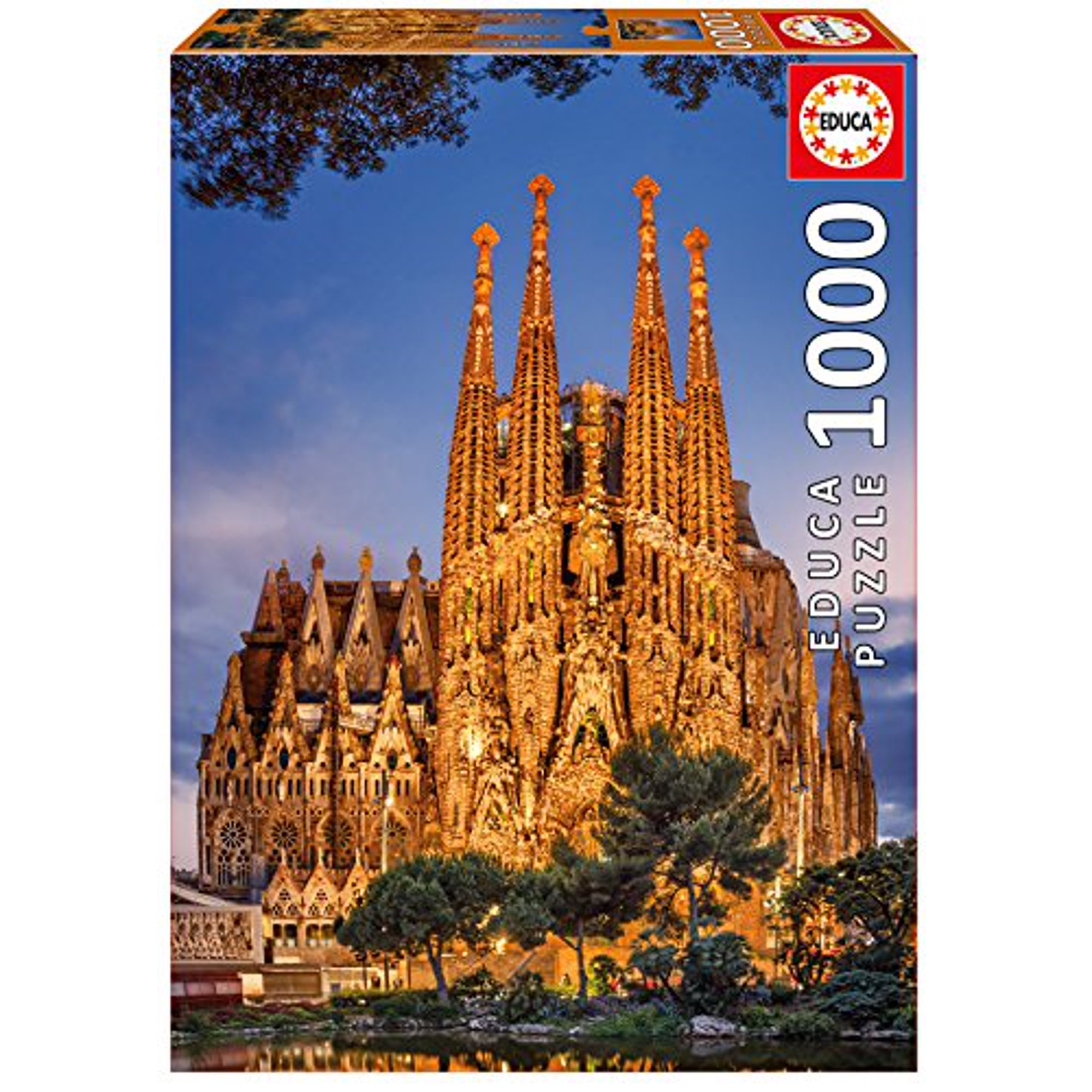 Educa - Puzzle 1000 - Sagrada Familia (017097)