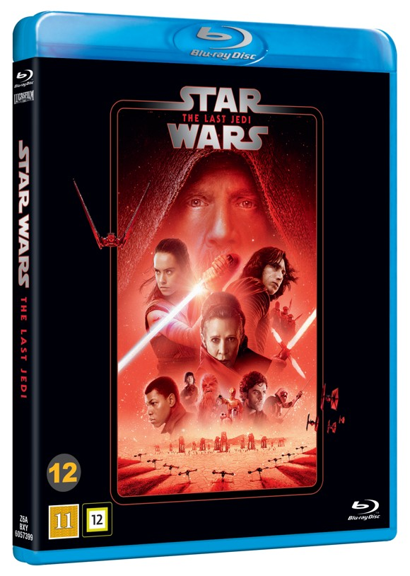 Star Wars:  Episode 8 - The Last Jedi - Blu ray