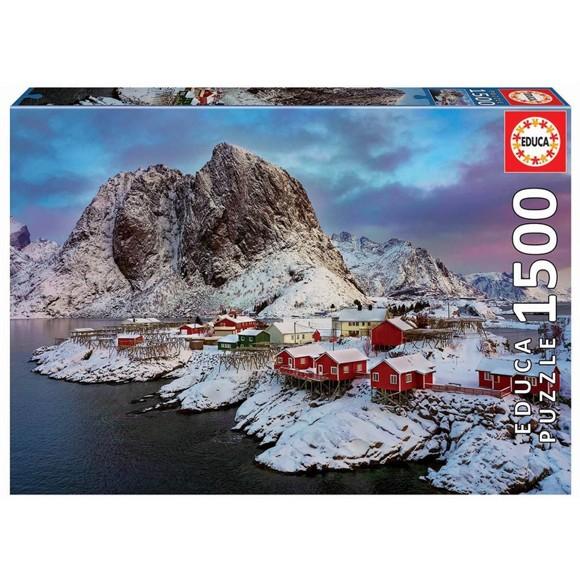 Educa - Puslespil 1500 brikker -  Lofoten, Norge
