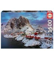 Educa - Puzzle 1500 -  Lofoten, Norway (017976)