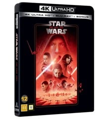 Star Wars:  Episode 8 - Last Jedi - 4K Blu ray