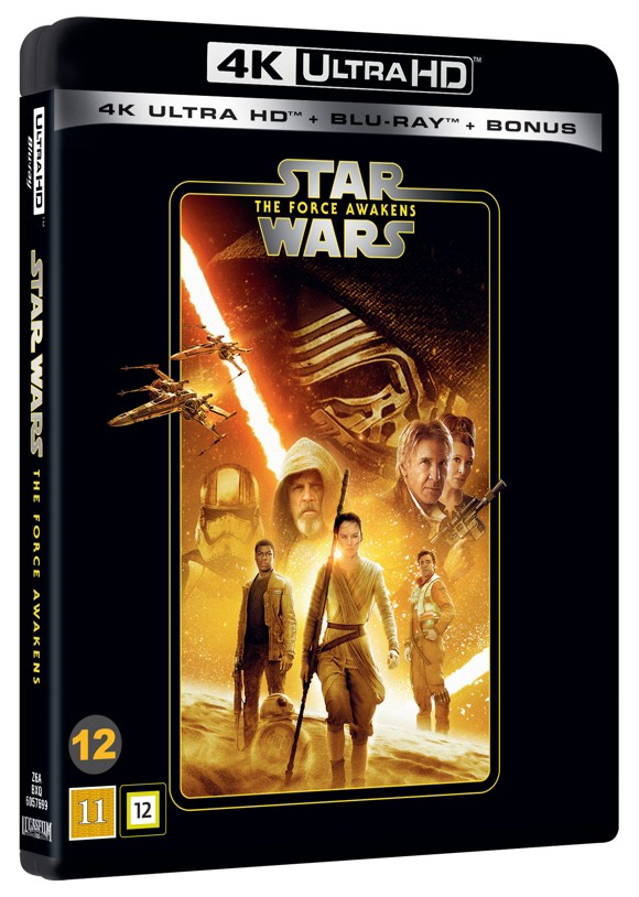 Star Wars: Episode 7 -  The Force Awakens - 4K Blu ray