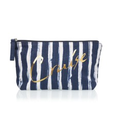 ​Studio - Cruise Makeup Purse - Blue /White