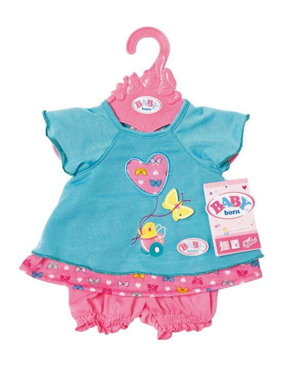 Baby Born - Baby Dress - Butterfy - Blue