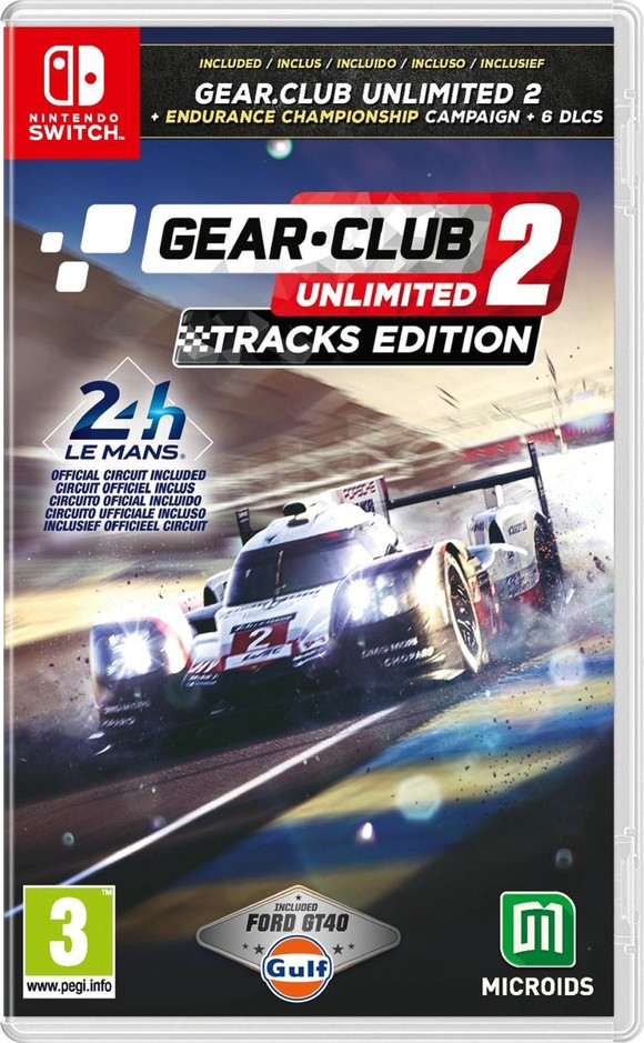 Gear.Club Unlimited 2 Tracks Edition