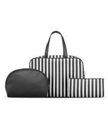Studio -  3 Pcs Toiletry Bag Set w. Striped Print
