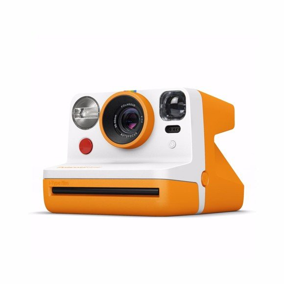 Polaroid - Now Point & Shoot Camera - Orange