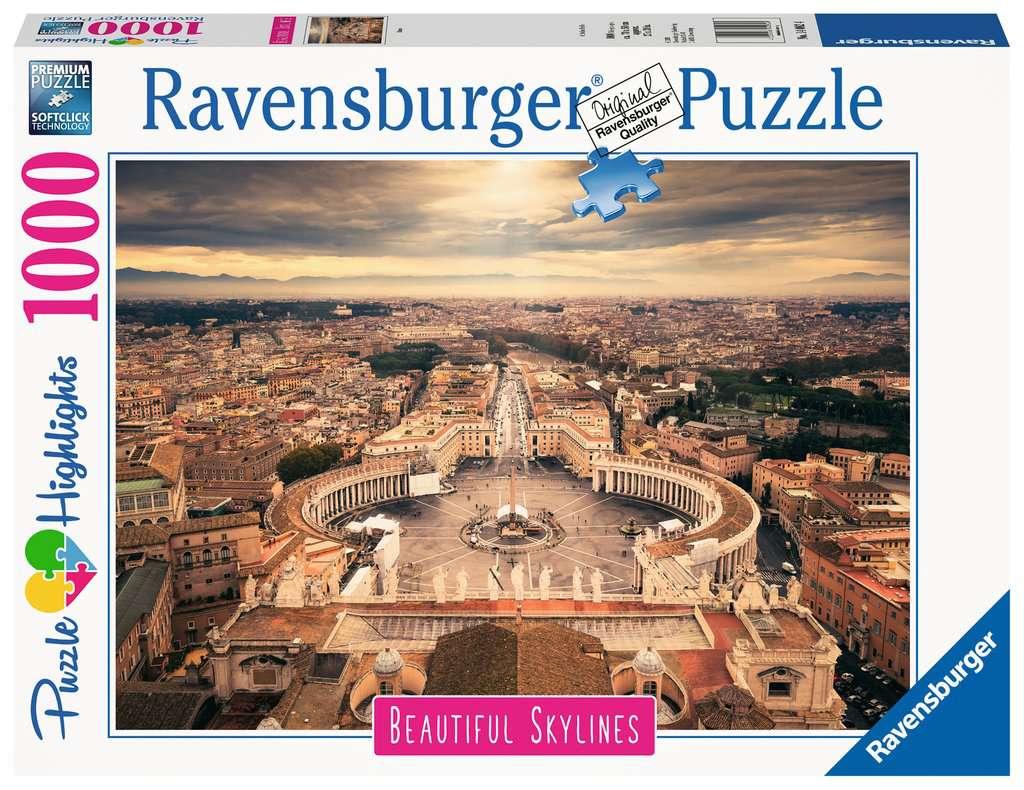 Ravensburger - Puzzle 1000 - Beautiful Skylines - Rome (10214082)