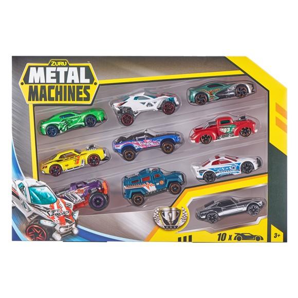 Metal Machines - Cars  Series 2 - Multi Pack Car 10 Pack (6750)