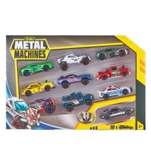 Metal Machines - Multi Pack 10 Biler