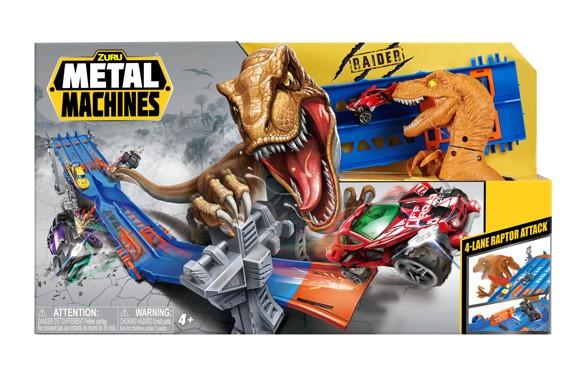 Metal Machines - Playset - 4 Lane Raptor Attack Set (6740)