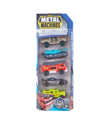 Metal Machines - Cars - Series 2 Multi Pack Car 5 Pack (Styles may vary) (6709)