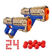 X-Shot - Chaos - Golden Meteor 2-Pack (36419)