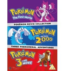 Pokémon Movie Collection DVD - UK Import
