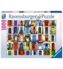 Ravensburger - Puslespil 1000 - Alverdens døre (10219524)