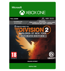 Tom Clancy's The Division 2: Warlords of New York Ultimate Edition (Early Purchase Incentive)