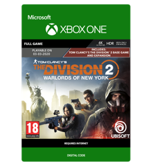 Tom Clancy's The Division 2: Warlords of New York Edition (Early Purchase Incentive)