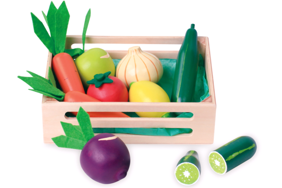 Small Wood - Fresh Vegetable (L40035)