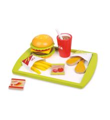 Small Wood - Cheeseburger Combo Meal (L40070)
