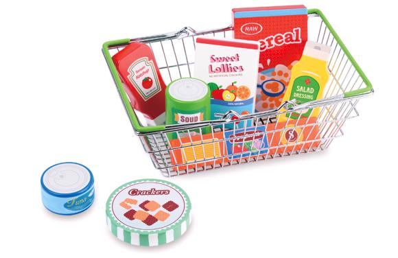 Small Wood - My Shopping Basket - Pantry Set (L40184)
