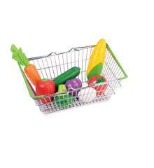 Small Wood - My Shopping Basket - Vegetable Set (L40185)