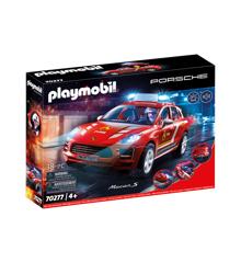 Playmobil - Porsche Macan S Fire brandvæsen (70277)