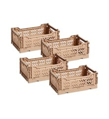 HAY - Colour Crate  Set of 4 - Nougat