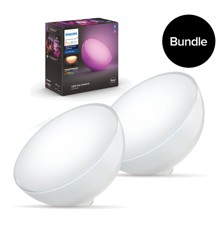Philips Hue - 2xGo Table Lamp - New edition - Bundle