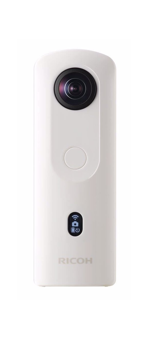 Ricoh - Theta SC2 360 ° Camera - White