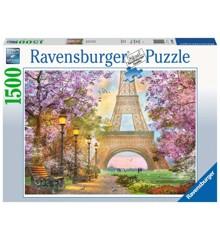 Ravensburger - Puslespil1500 - Romantik i Paris (10216000)