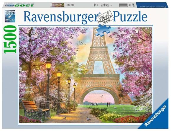 Ravensburger - Puzzle 1500 - Paris Romance (10216000)