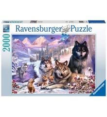 Ravensburger - Puslespil 2000 - Ulve i sneen (10216012)