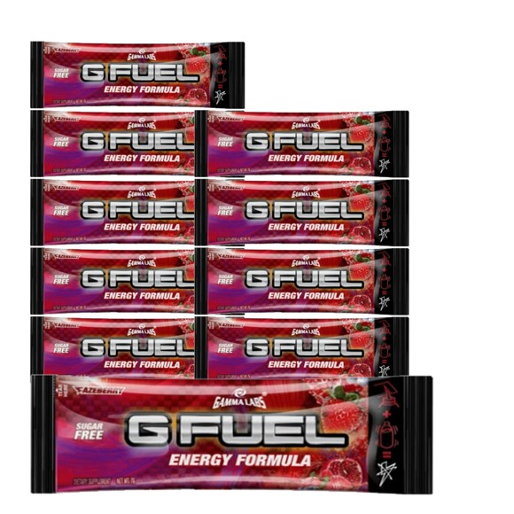 G Fuel - Fazeberry Sachets 10x - Bundle - 10 Servings