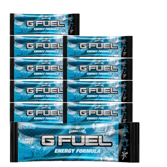 G Fuel - Blue Ice Flavour Sachets - 10 Servings - Bundle