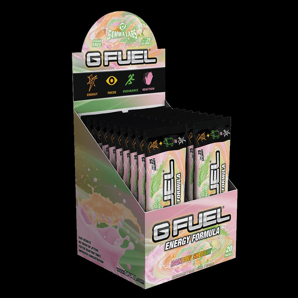 G Fuel - Rainbow Sherbert - 20 Servings - Bundle
