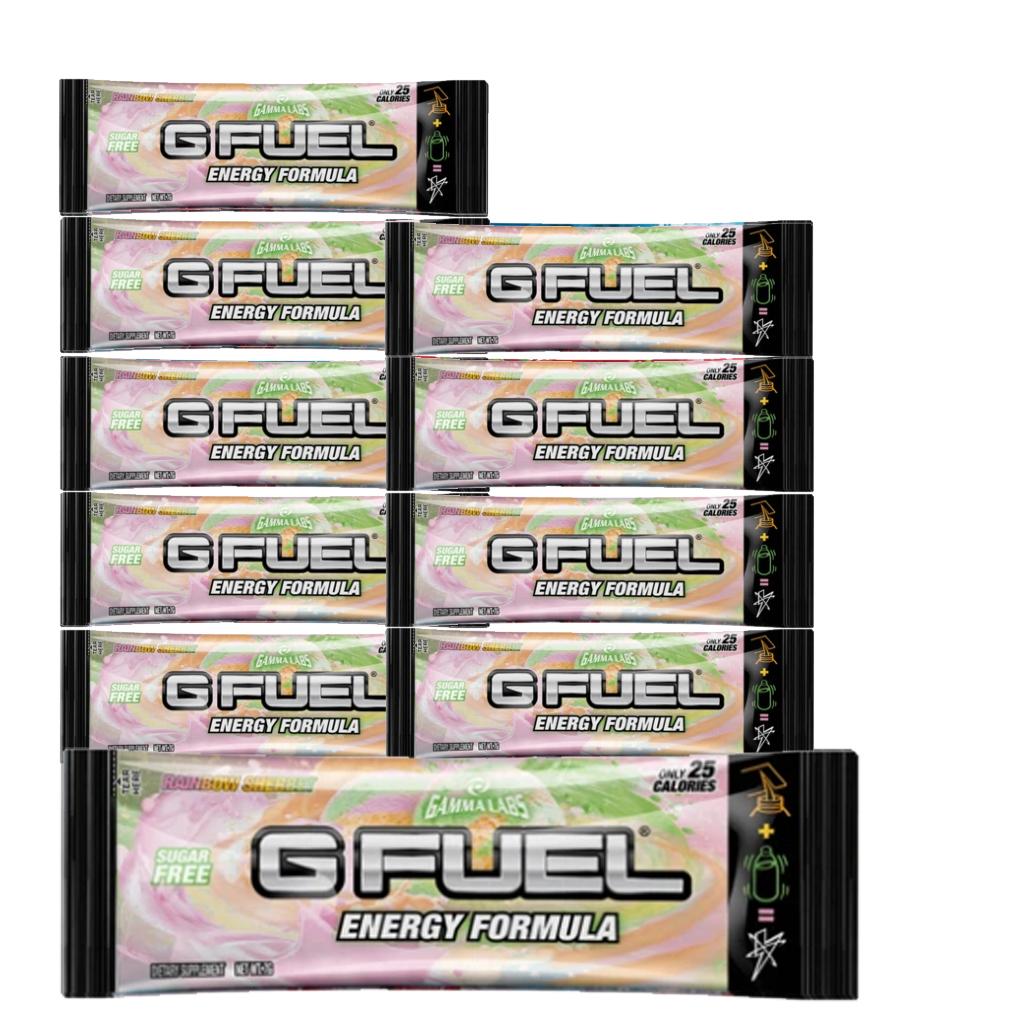 G Fuel - Rainbow Sherbert - 10 Servings - Bundle