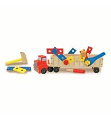 Melissa & Doug - Stor Lastbil med Værktøj