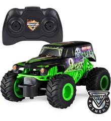 Monster Jam - Grave Digger RC Fjernstyret Bil 1:24 (6044955)