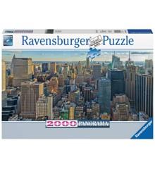 Ravensburger - Puslespil 2000 - View over New York (10216708)