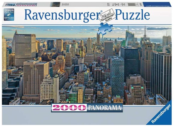 Ravensburger - Puzzle 2000 - View over New York (10216708)